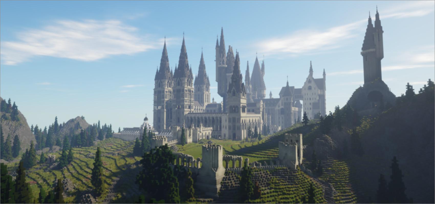 Screenshot Minecraft Witchcraft & Wizardry